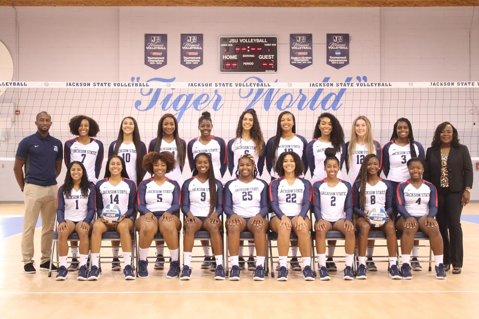 2019 Women S Volleyball Roster Jackson State University