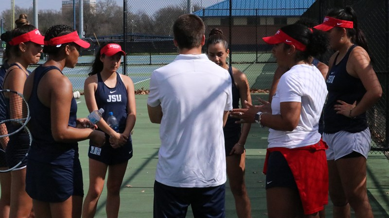 JSU Tennis Competes at Day 1 of HBCU Nationals